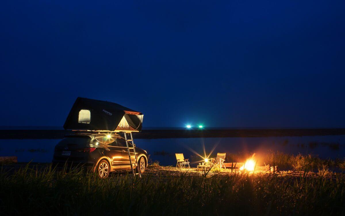 Namiot dachowy iKamper - Sky4X swoboda w biwakowaniu